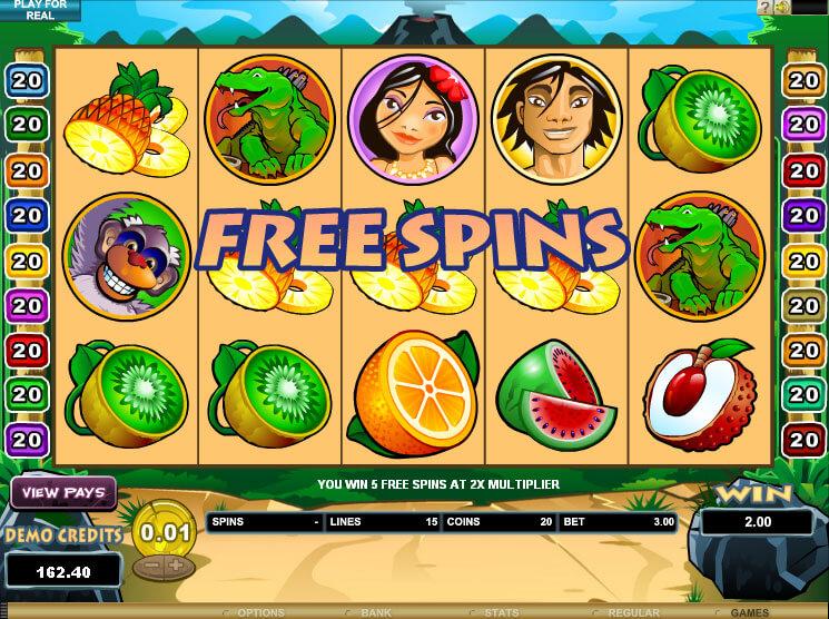 Big Kahuna Slot Bonus