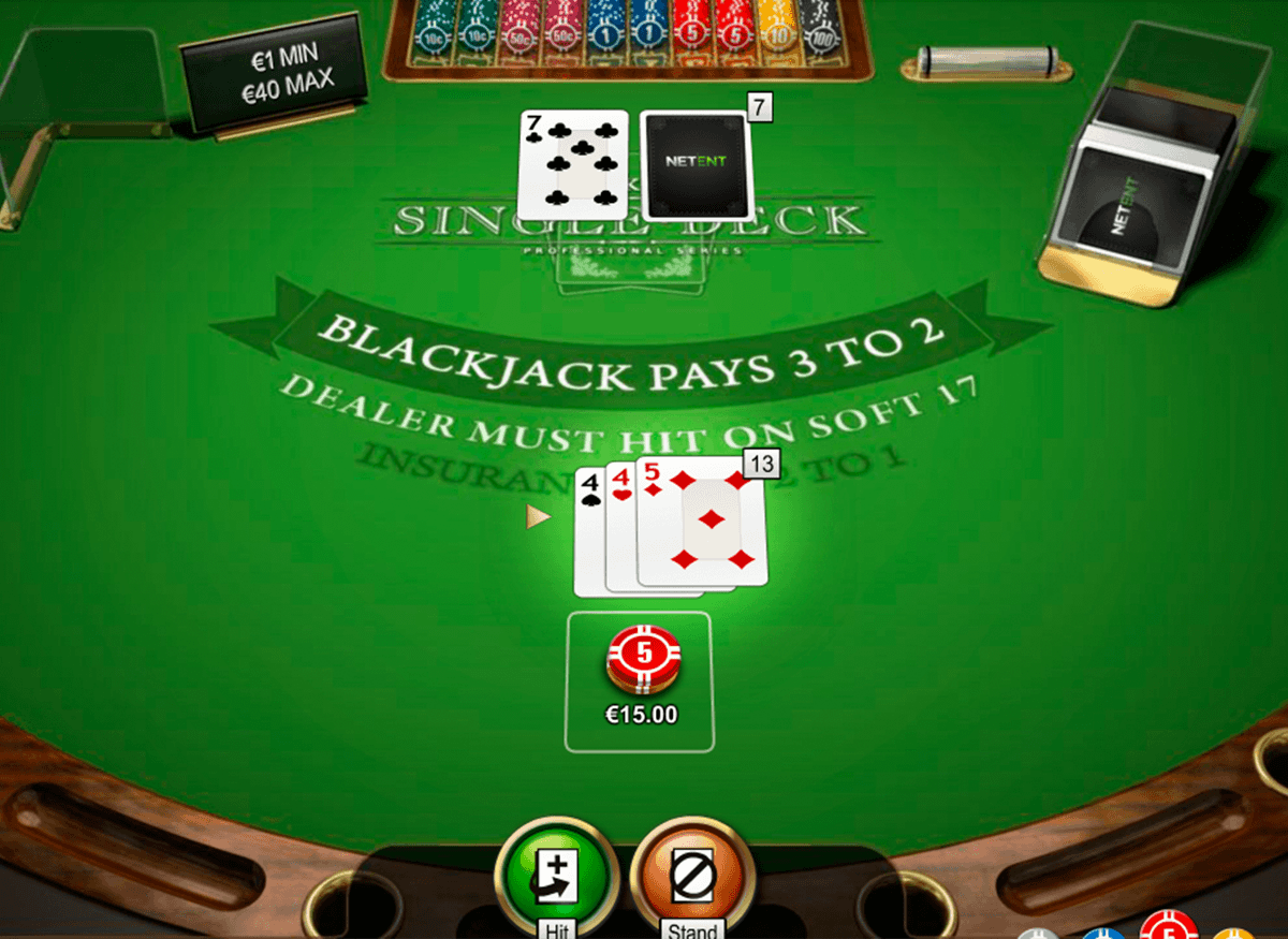 Blackjack Pro Gameplay