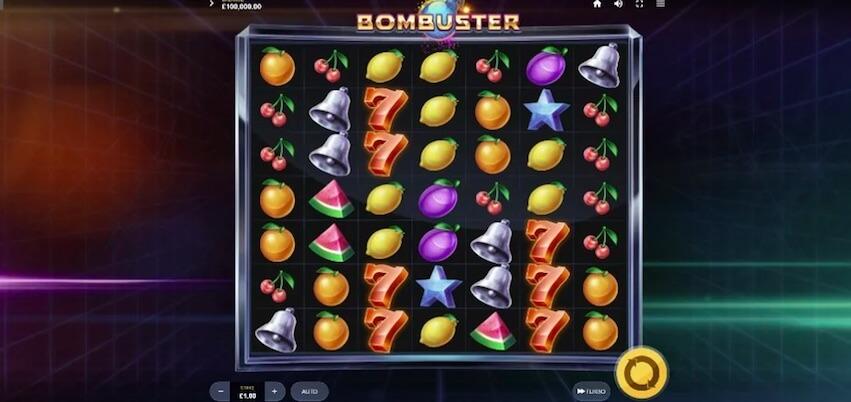Bombuster Slot Bonus