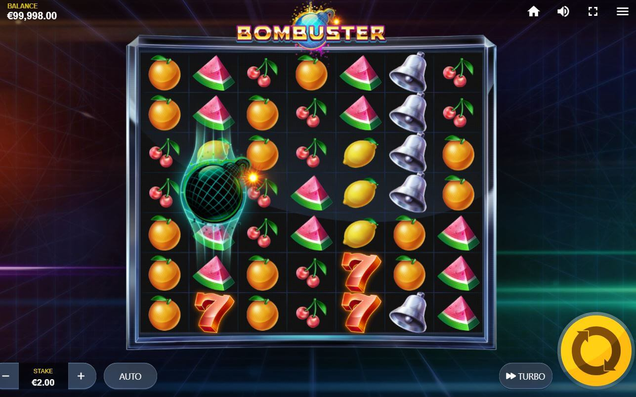 Bombuster Slot Gameplay