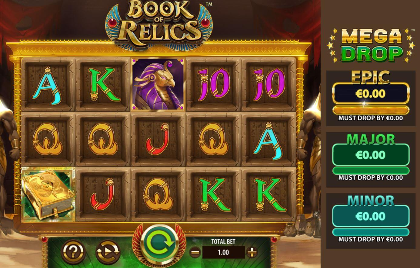 Book of Relics Slot Gameplay