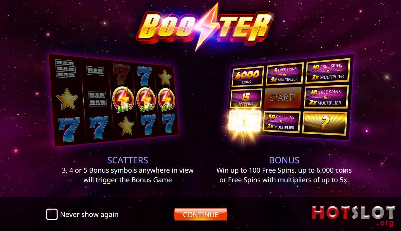 booster bonuses