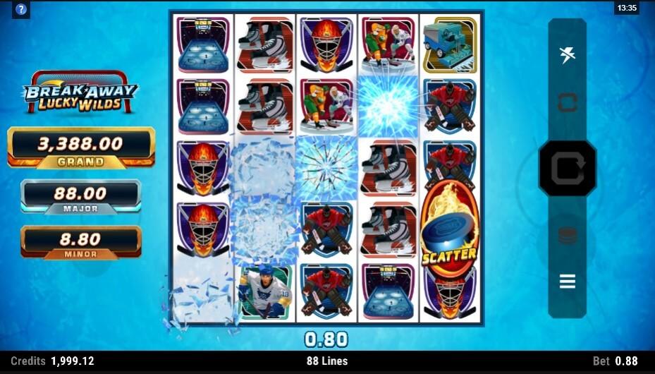 Break Away Lucky Wilds Slot Bonus