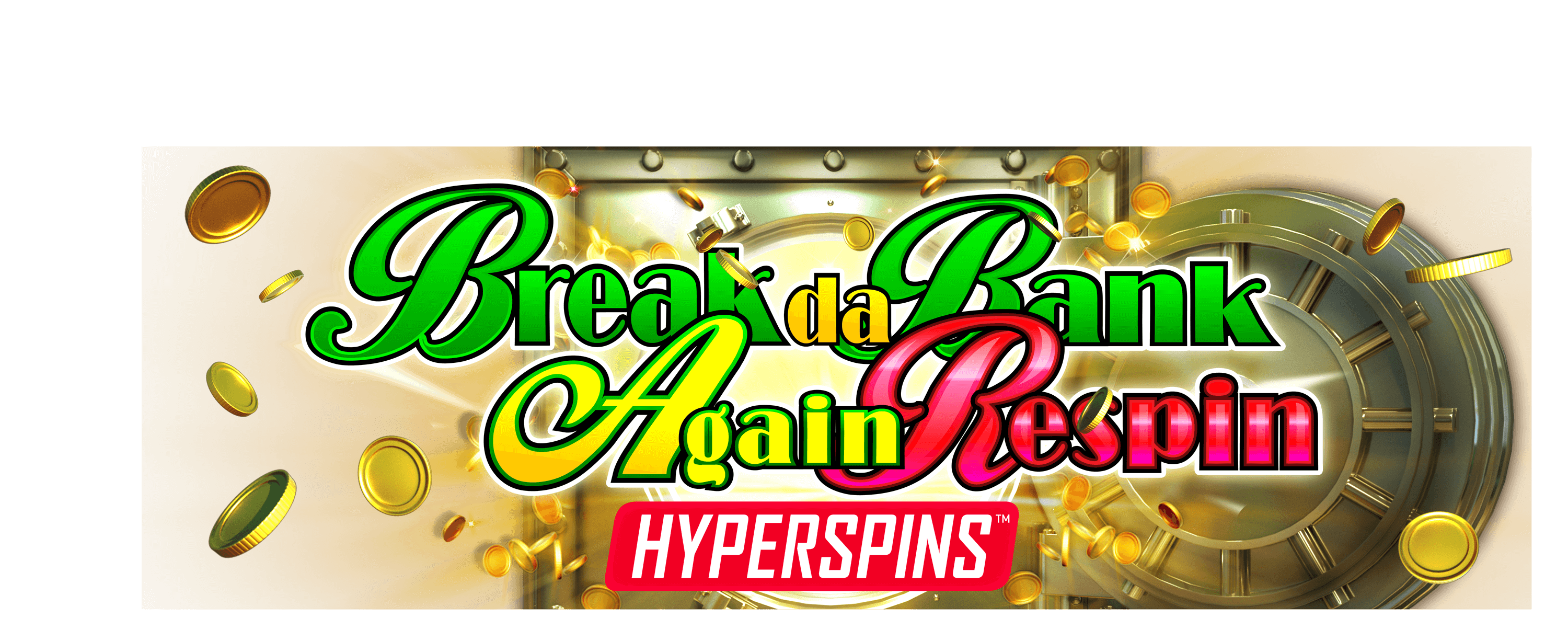 Break Da Bank Again Respin slot logo
