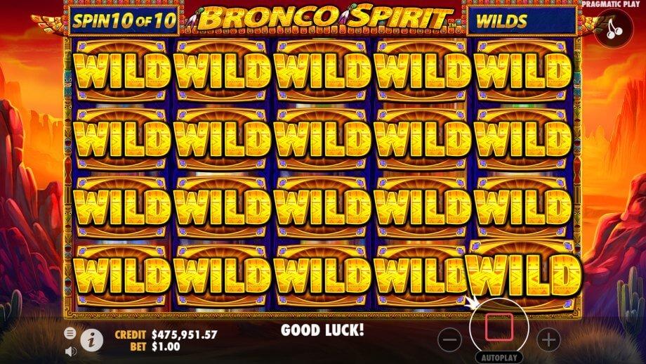 Bronco Spirit Slot Bonus