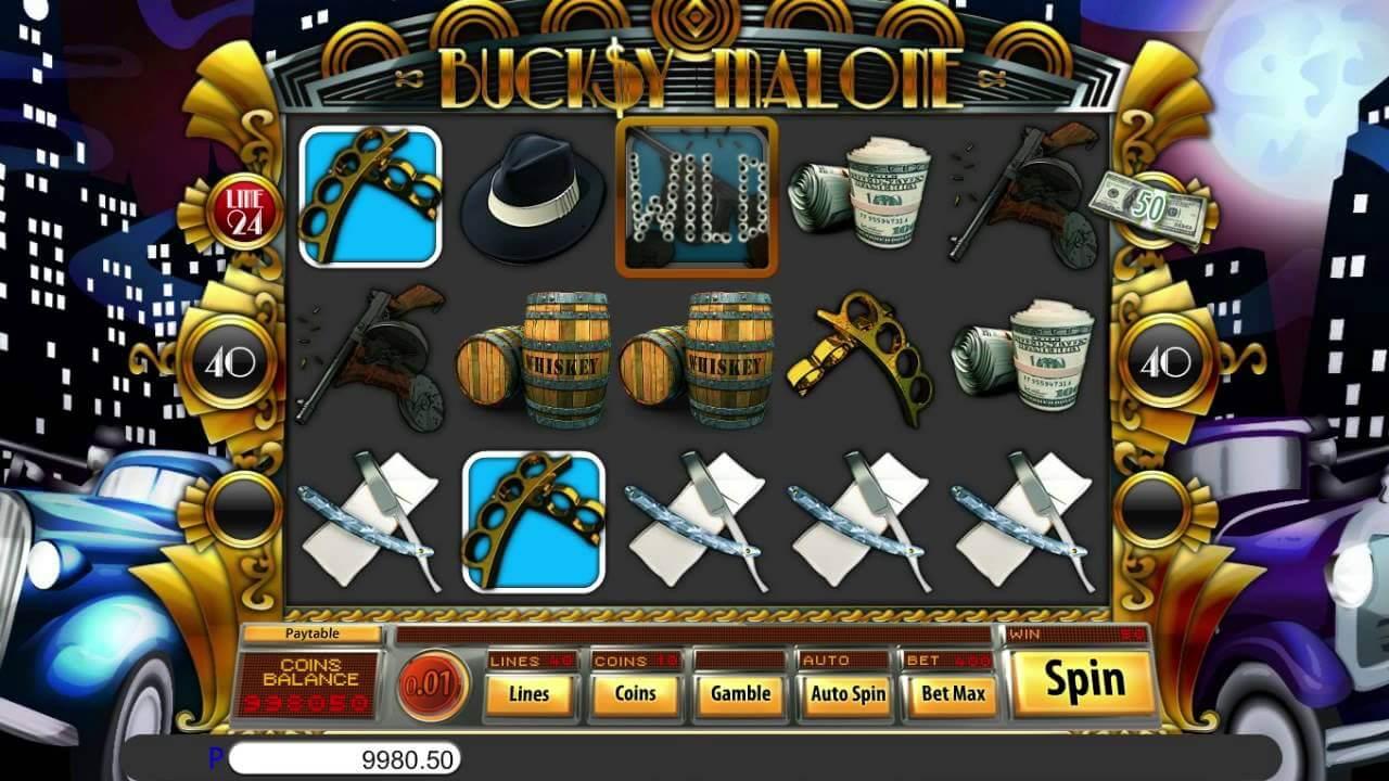 Bucksy Malone Slot Bonus