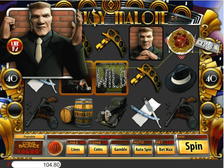 Bucksy Malone Slot Gameplay