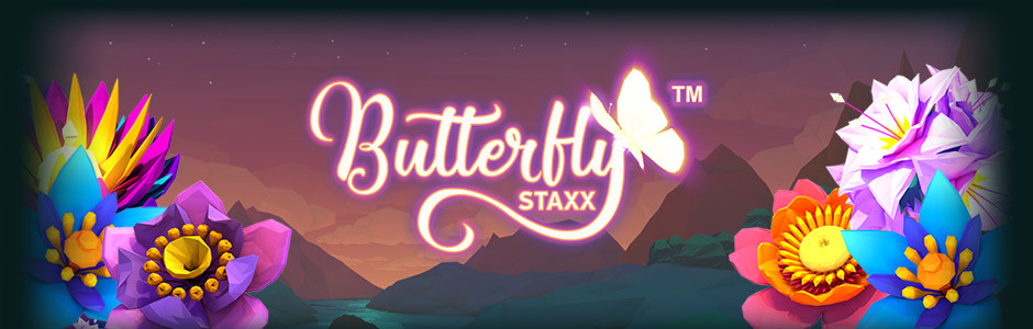 Butterfly Staxx Slots Game Logo