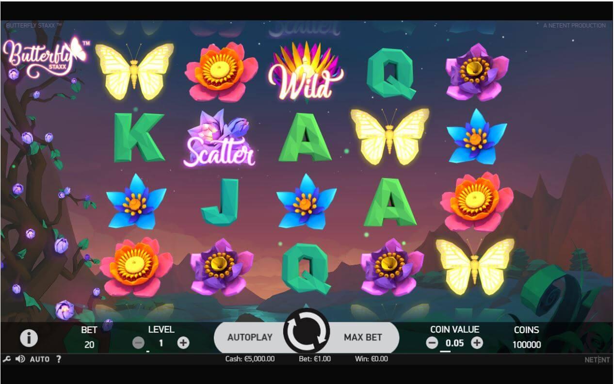 Butterfly Staxx 2 Slot Bonus