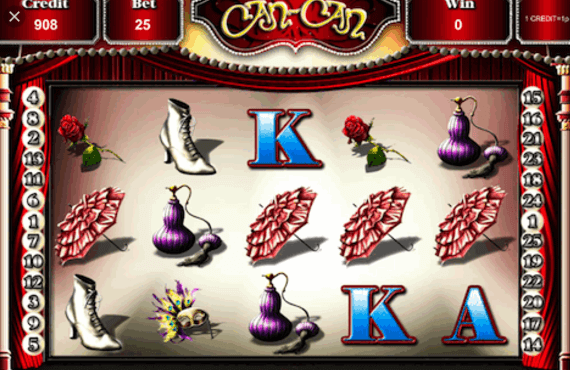 Can Can Slot Gameplay