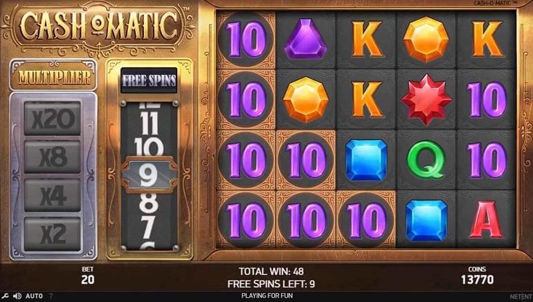 Cash-O-Matic Slot Bonus