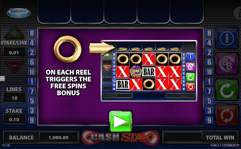 Cash Stax Bonus