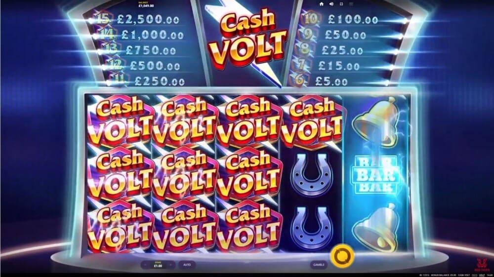 Cash Volt Slot Bonus