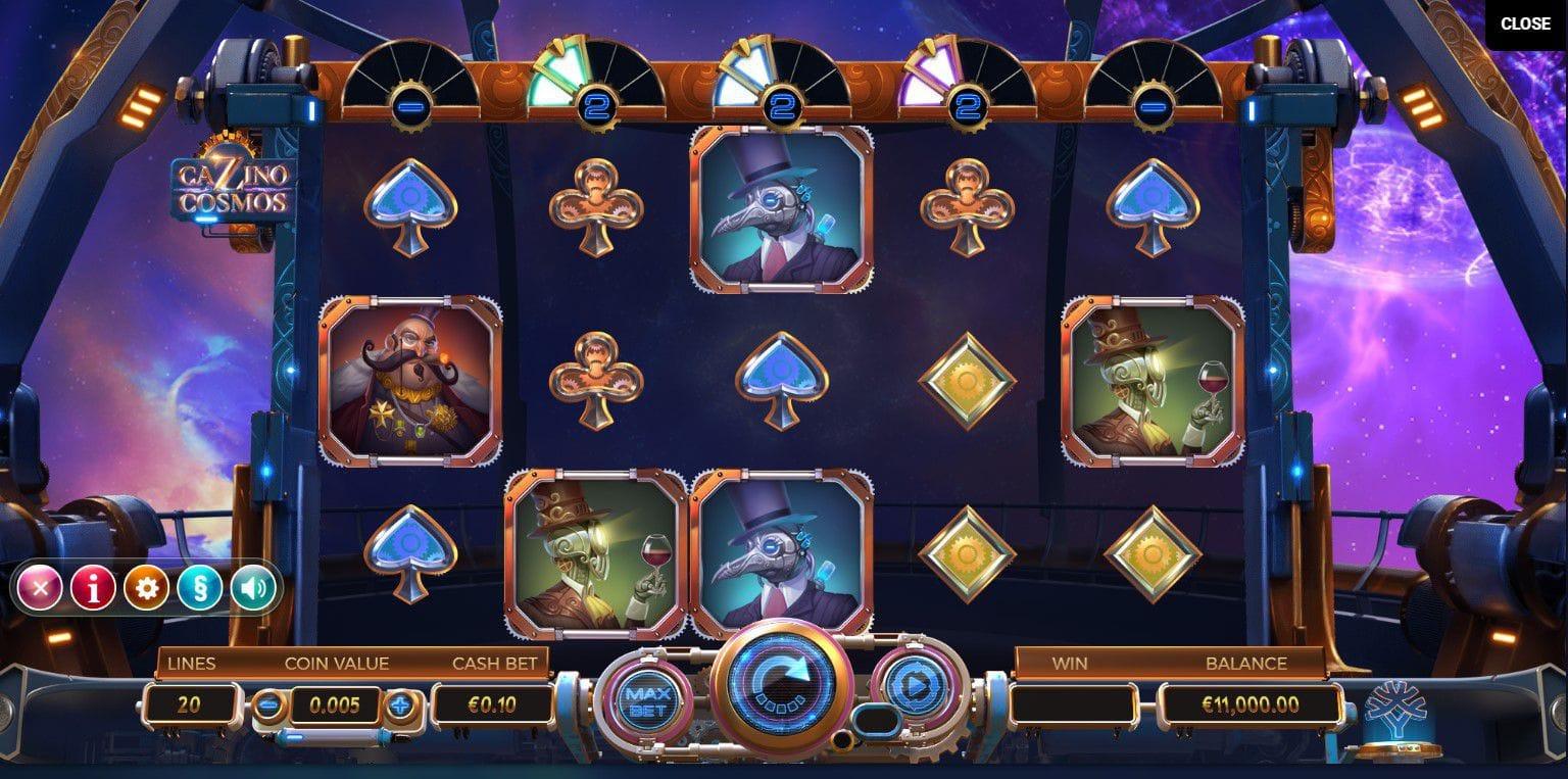 Cazino Cosmos Slot Bonus