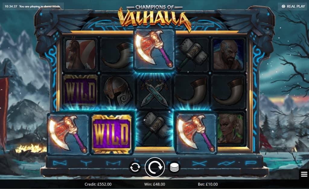 Champions of Valhalla Wilds