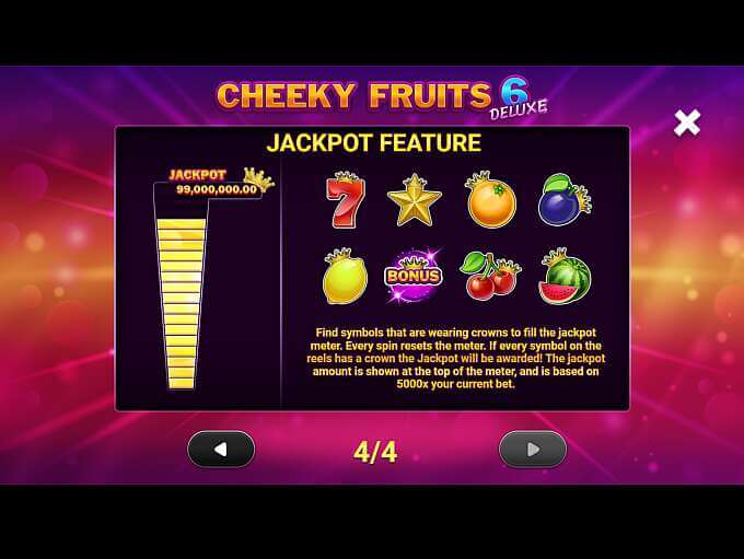 Cheeky Fruits 6 Deluxe Bonus