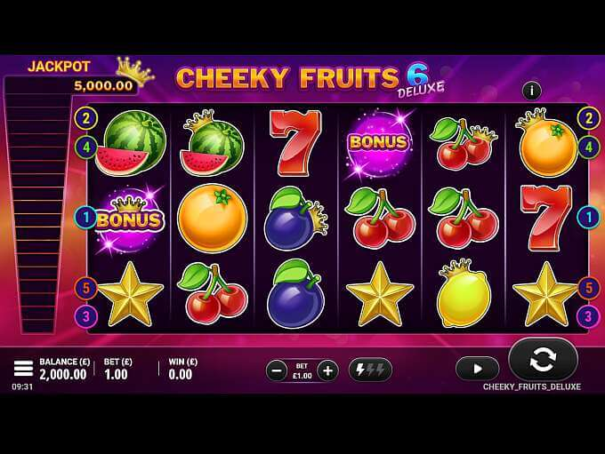 Cheeky Fruits 6 Deluxe Gameplay