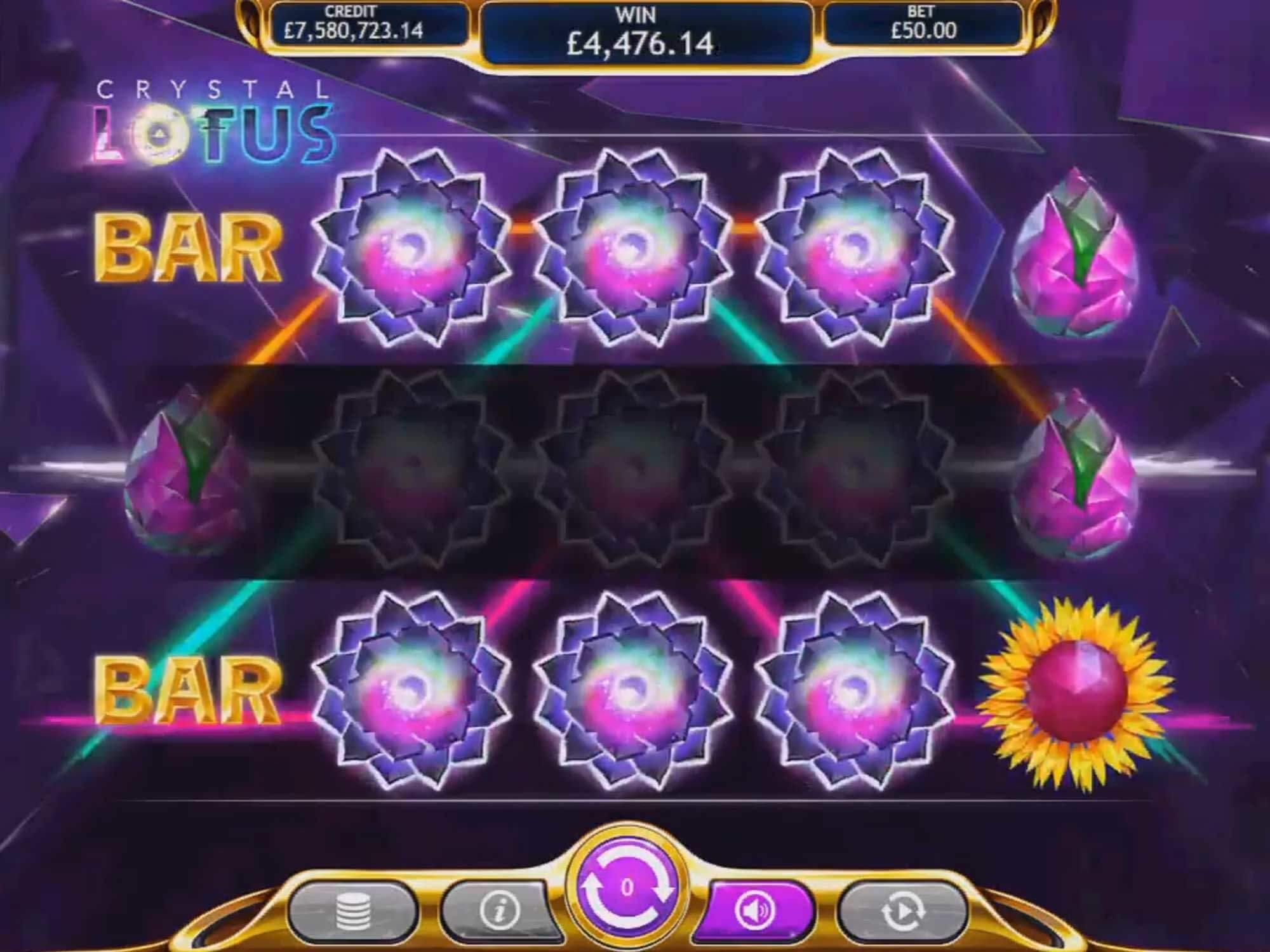 Crystal Lotus Slot Bonus