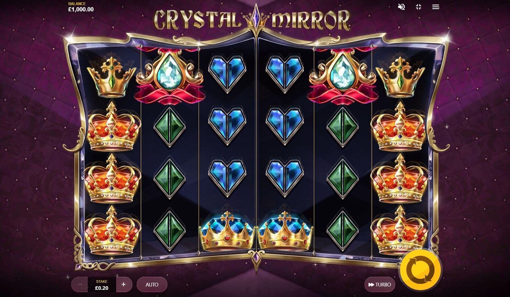 Crystal Mirror Slot Bonus