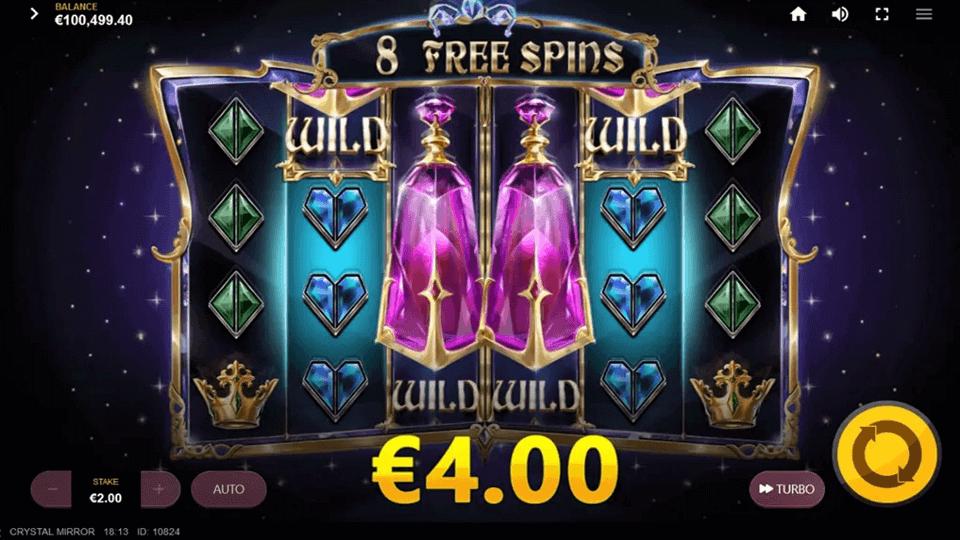 Crystal Mirror Slot Gameplay