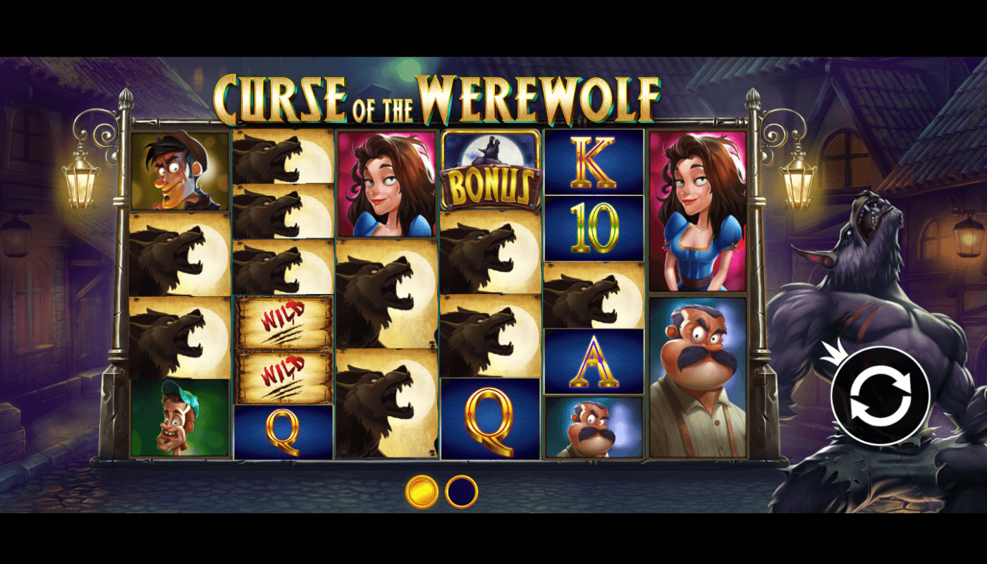 Curse of the Werewolf Megaways Slot Gameplay