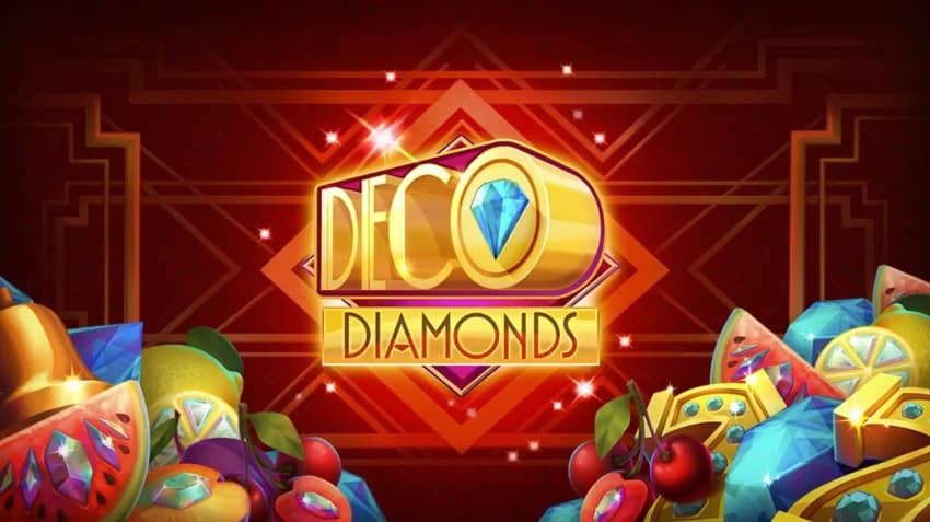 Deco Diamonds Slots Game logo