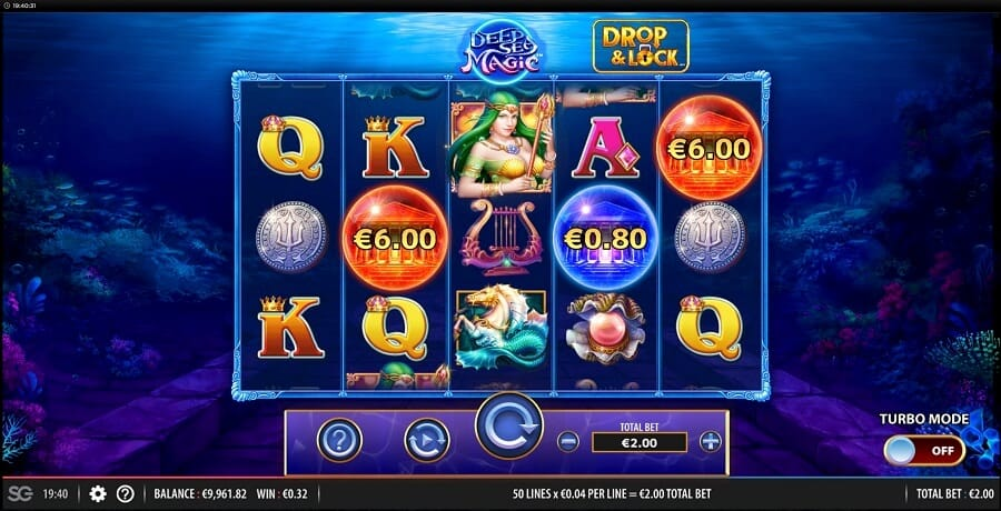 Deep Sea Magic Slot Bonus