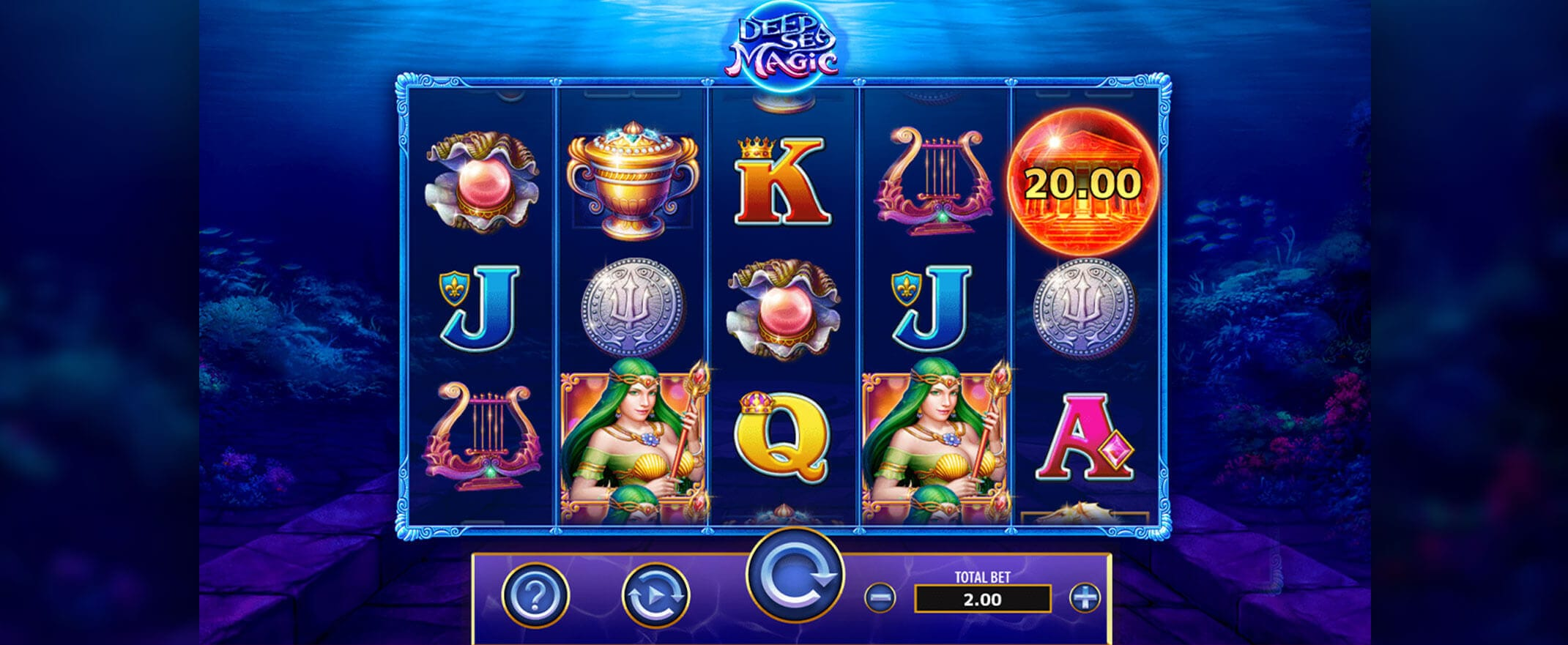Deep Sea Magic Slot Gameplay