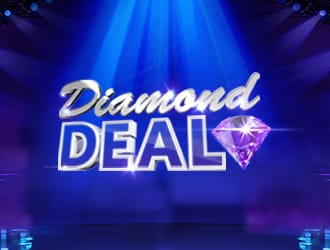 Diamond deal slot logo