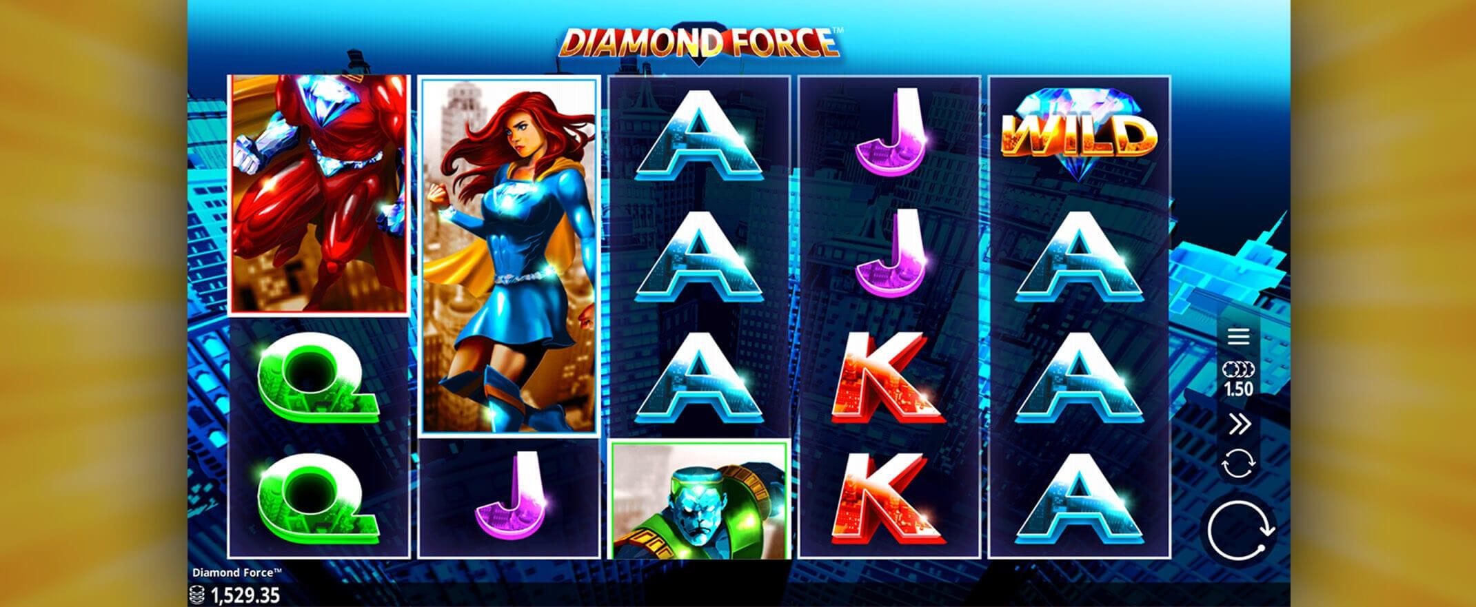 Diamond Force Gameplay