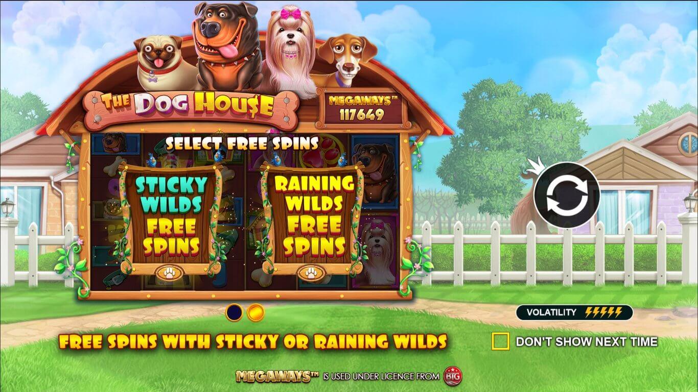 Dog House Megaways Slot Bonus