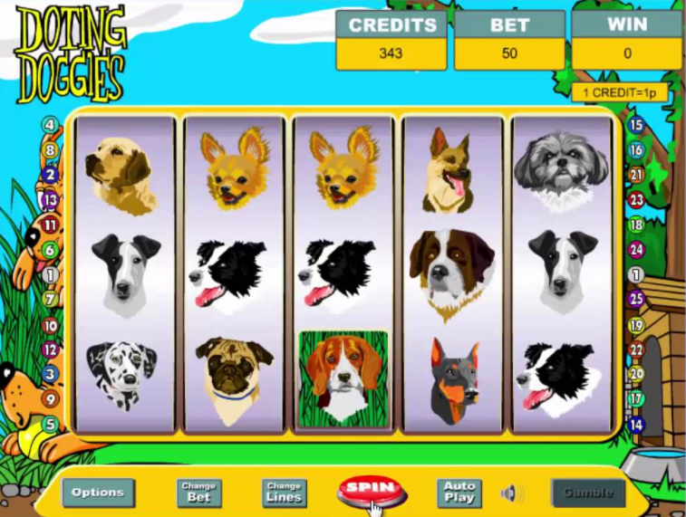 Doting Dogies Gameplay