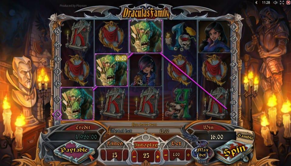 Dracula's Family gameplay 2