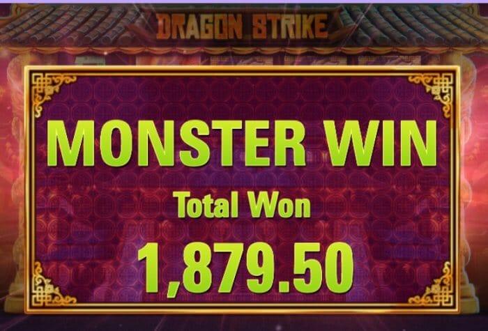 Dragon Strike Slot Bonus