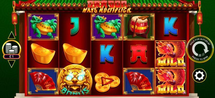 Dragon Ways Multiplier Slot Bonus