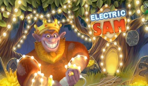 Electric Sam Slots Game logo