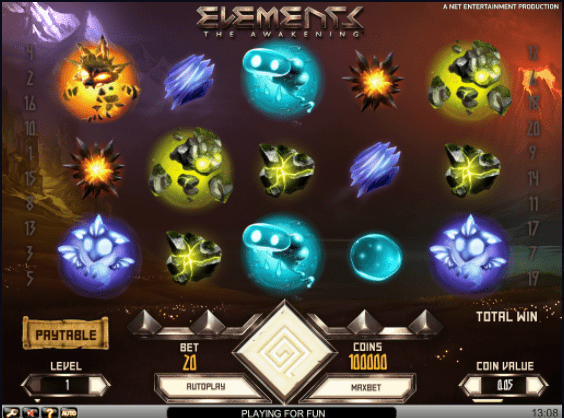 Elements gameplay