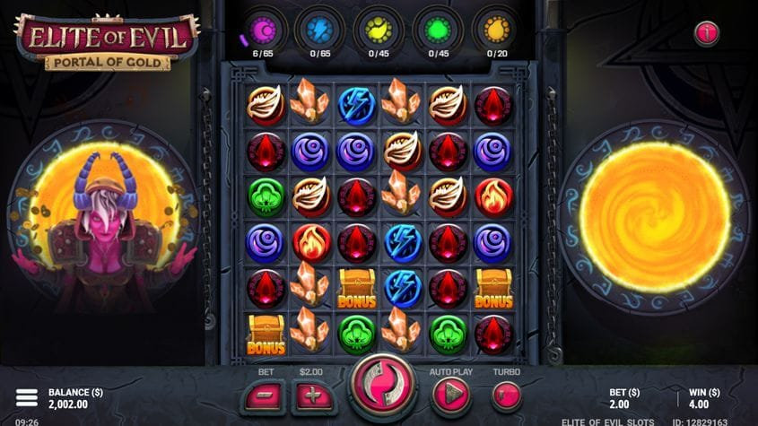 Elite Of Evil Portal Of Gold Slot Bonus