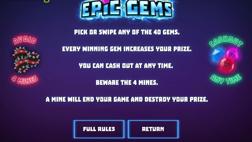 epic gems gameplay