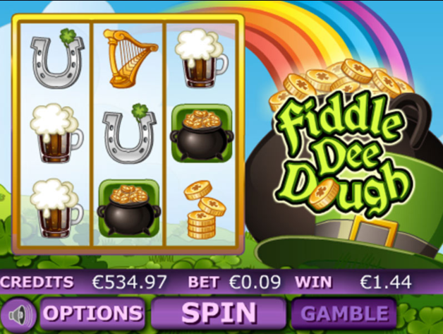 Fiddle Dee Dough Slots Game gameplay