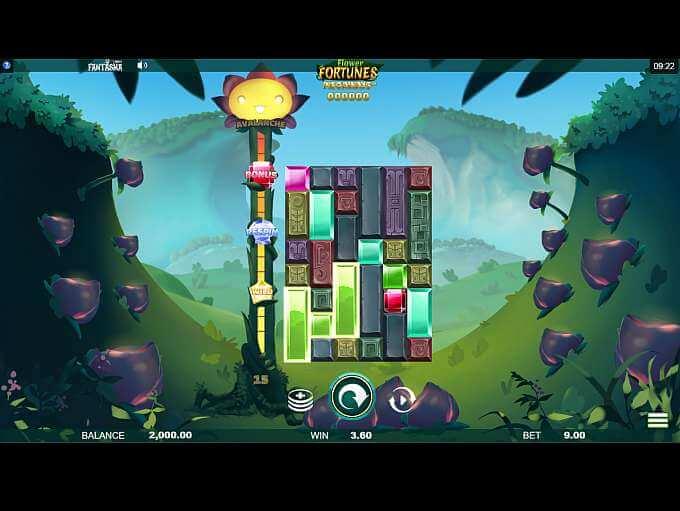 Flower Fortunes Megaways Slot Gameplay