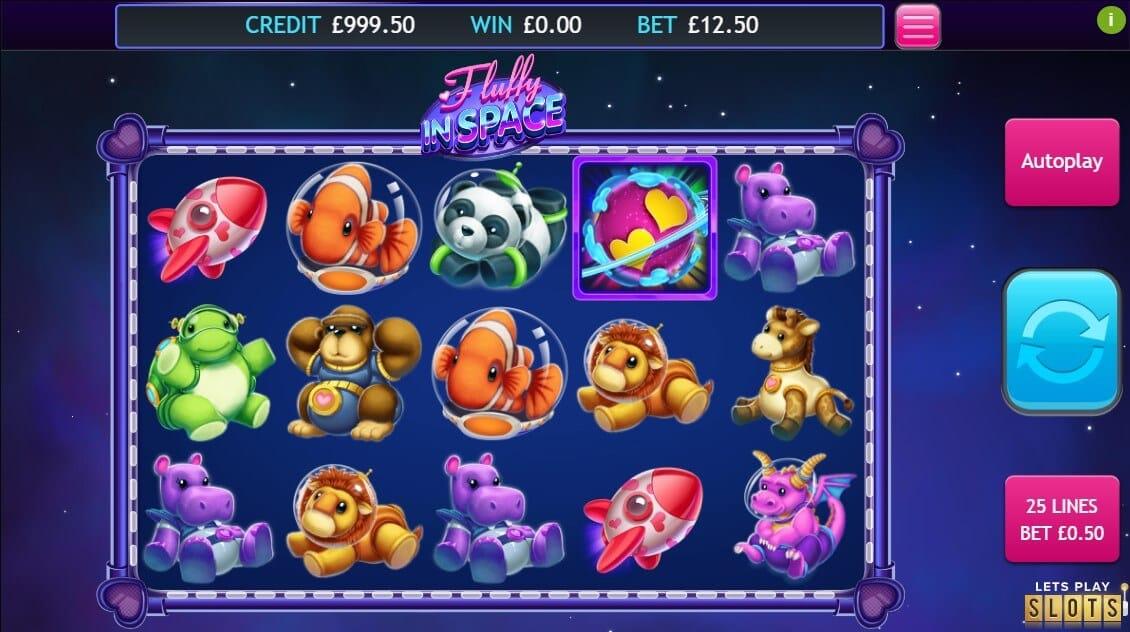 Fluffy in Space Slot Bonus