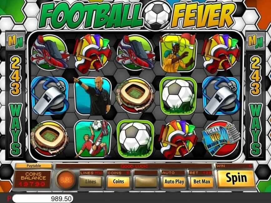 Football Fever Slot Bonus