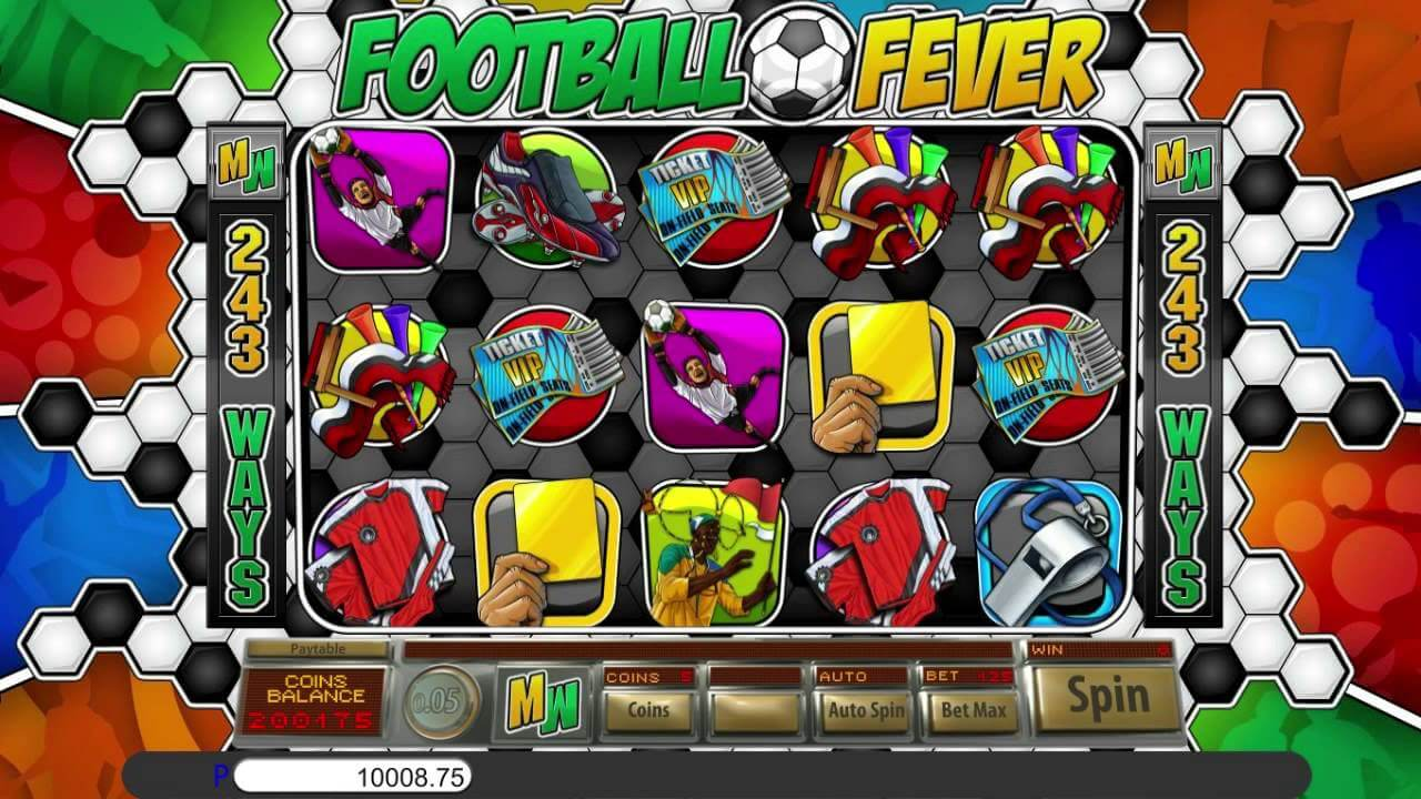 Football Fever Slot Gameplay