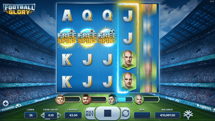 Football Glory Slot Bonus