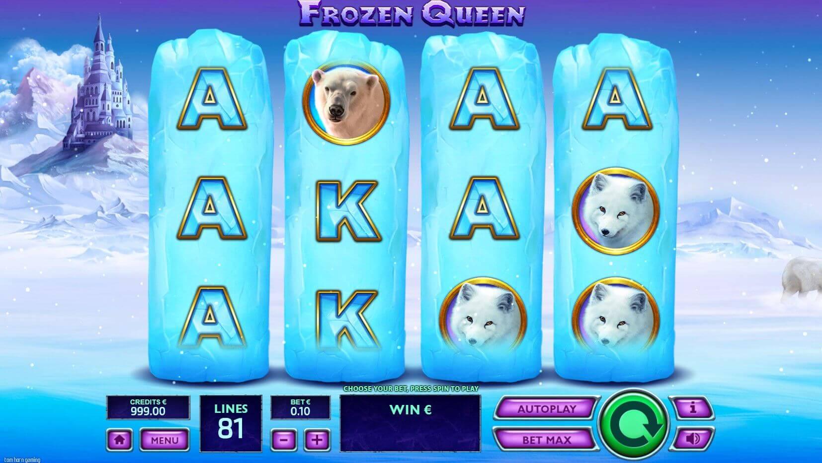 Frozen Queen Slot Gameplay