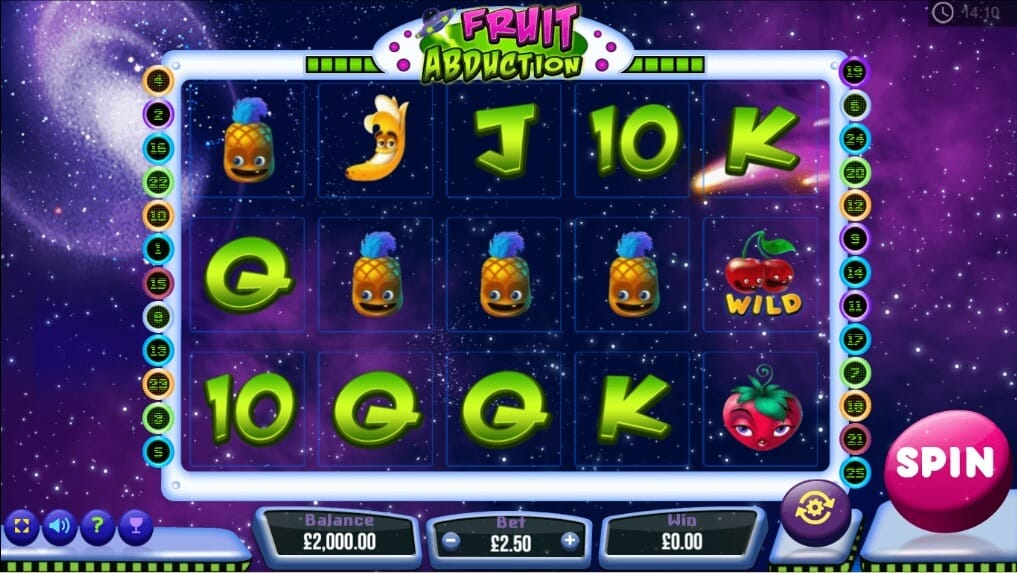 Fruit Abduction Slot Bonus