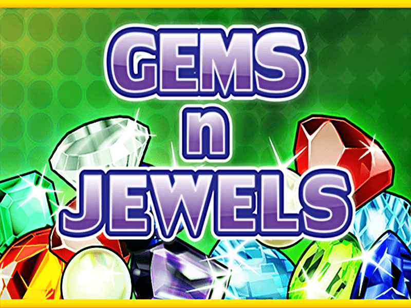gems n jewels slots game logo