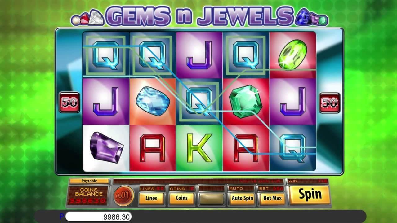 Gems N Jewels Slot Bonus
