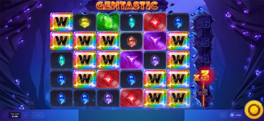 Gemtastic Slot Bonus